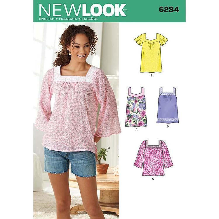 New Look Pattern 6284 Women's Top