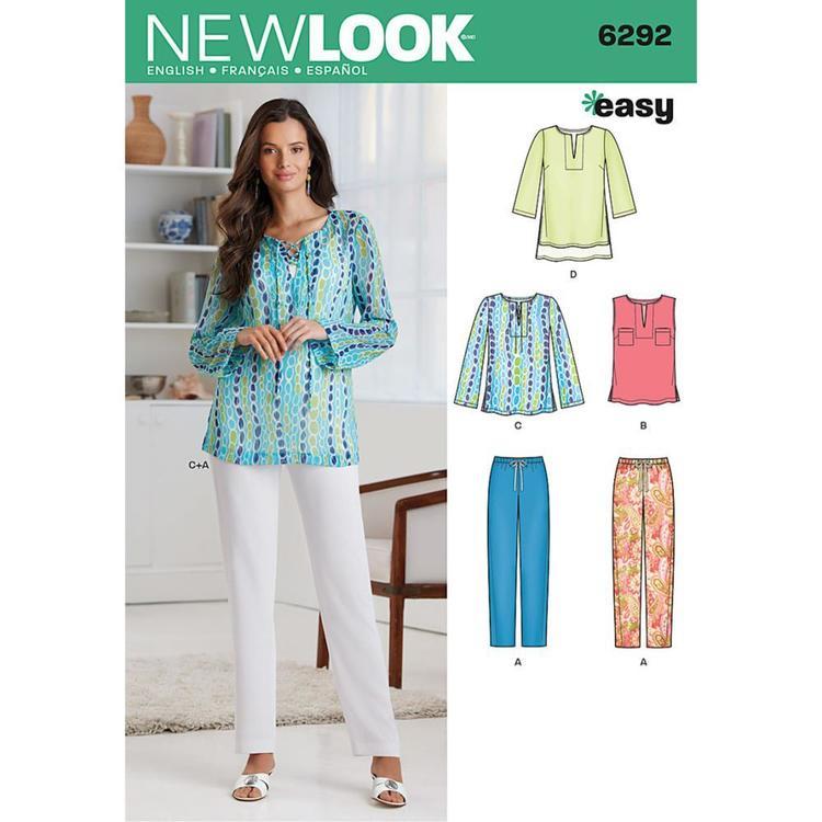 New Look Pattern 6292 Women's Coordinates
