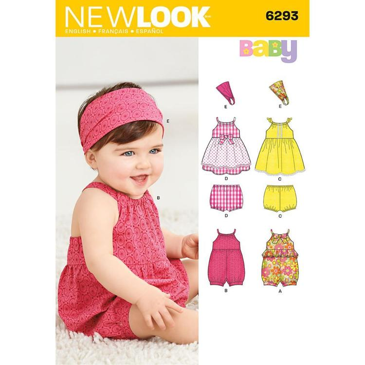 New Look Pattern 6293 Girl's Coordinates