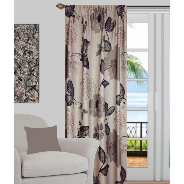Gummerson Florian Triple-weave Pencil Pleat Curtain