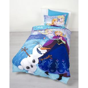 Disney Frozen Sparkle Quilt Cover Set