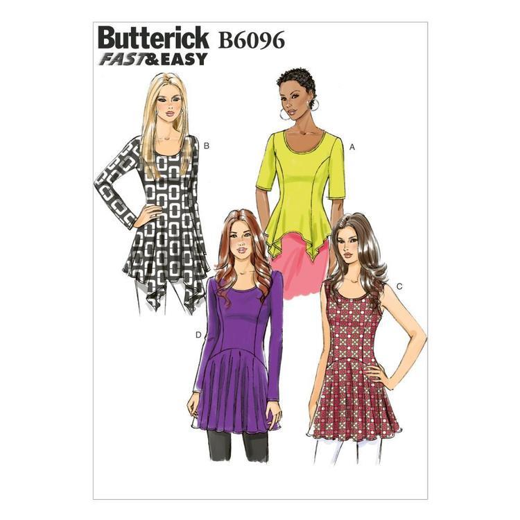 Butterick Pattern B6096 Misses' Top