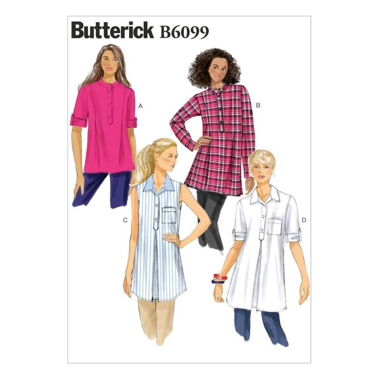 Butterick B6099 Misses' Tunic
