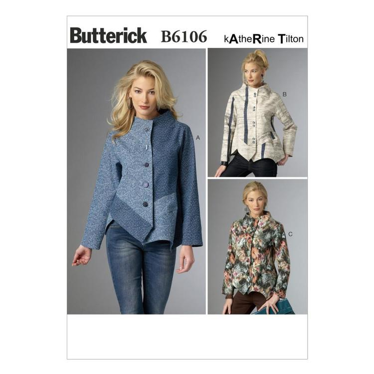 Butterick B6106 Misses' Jacket