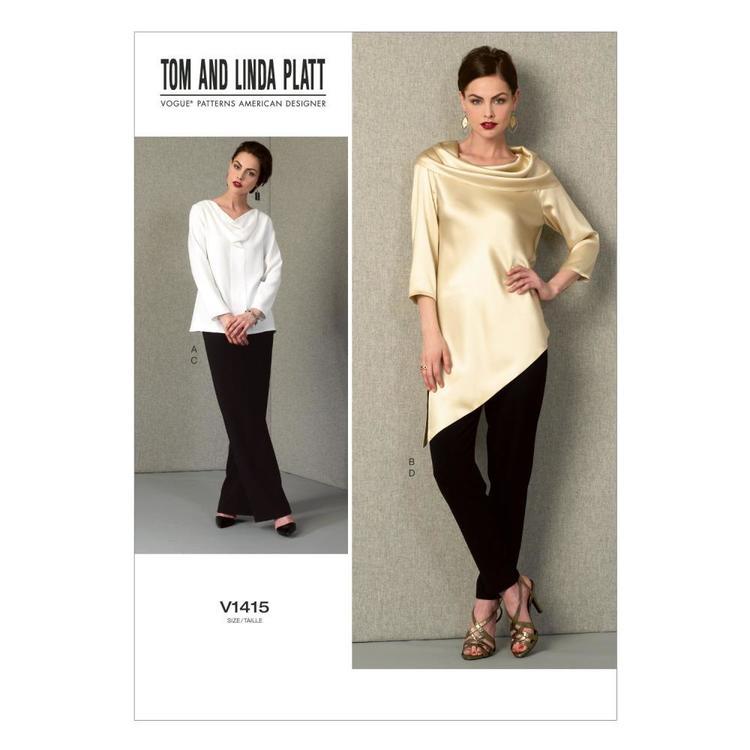 Vogue Pattern V1415 Misses' Tunic & Pants
