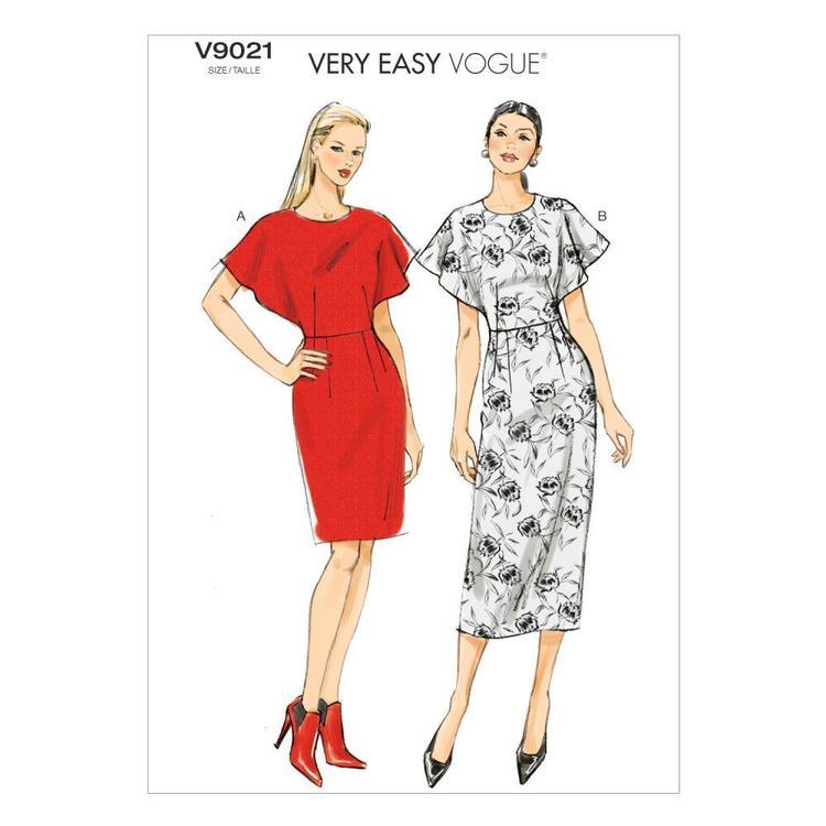 Vogue Pattern V9021 Misses' Dress
