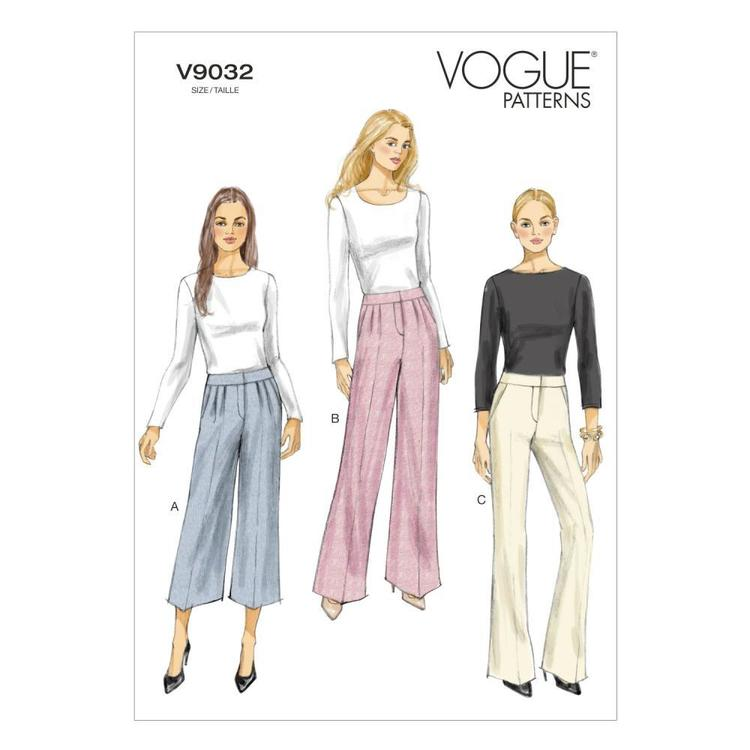 Vogue V9032 Misses' Pants