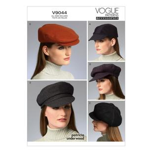 Vogue Pattern V9044 Hats