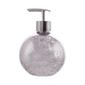Bath By Ladelle Harlequin Soap Dispenser<br> Soap Dispenser Silver