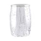 Bath By Ladelle Harlequin Toothbrush Holder Silver
