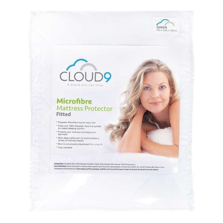 Cloud 9 Microfibre Fitted Mattress Protector