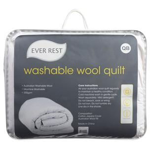 Ever Rest Washable Wool Quilt