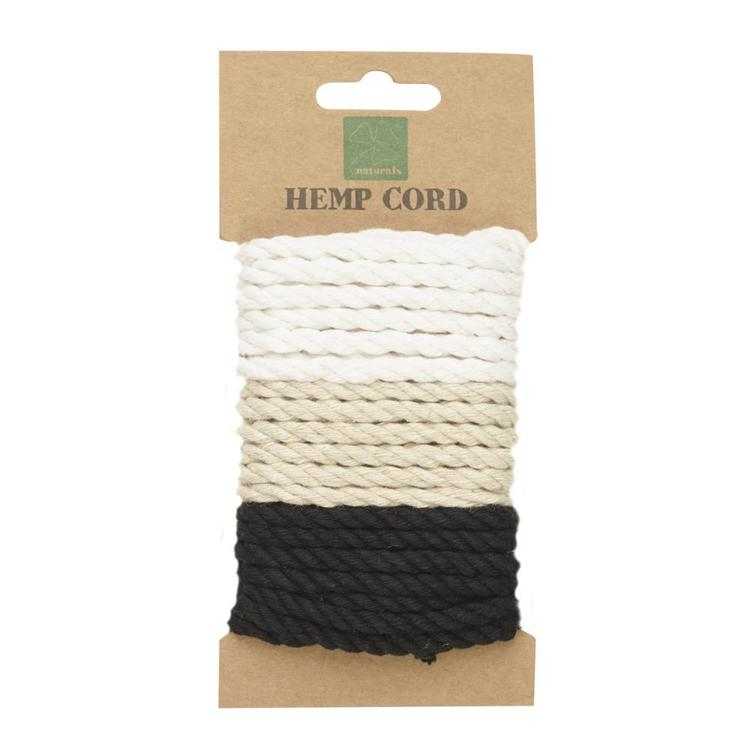 Shamrock Craft Naturals Twisted Hemp Cord