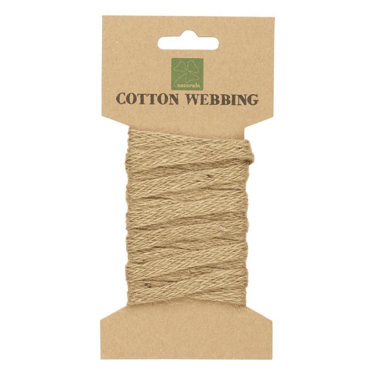 Shamrock Craft Naturals Cotton Webbing
