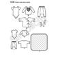 Simplicity 1330 Baby Coordinates  XX Small - Large