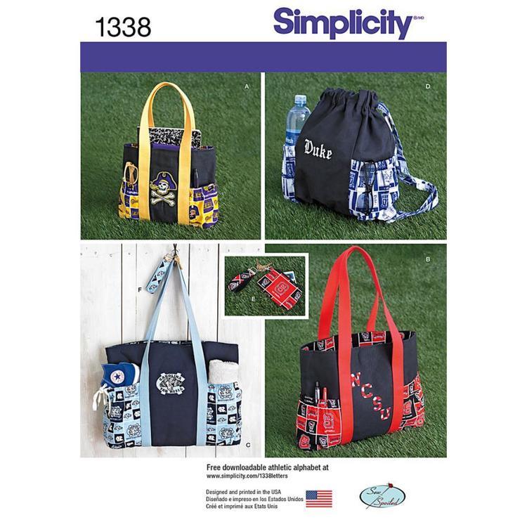 Simplicity Pattern 1338 Bag