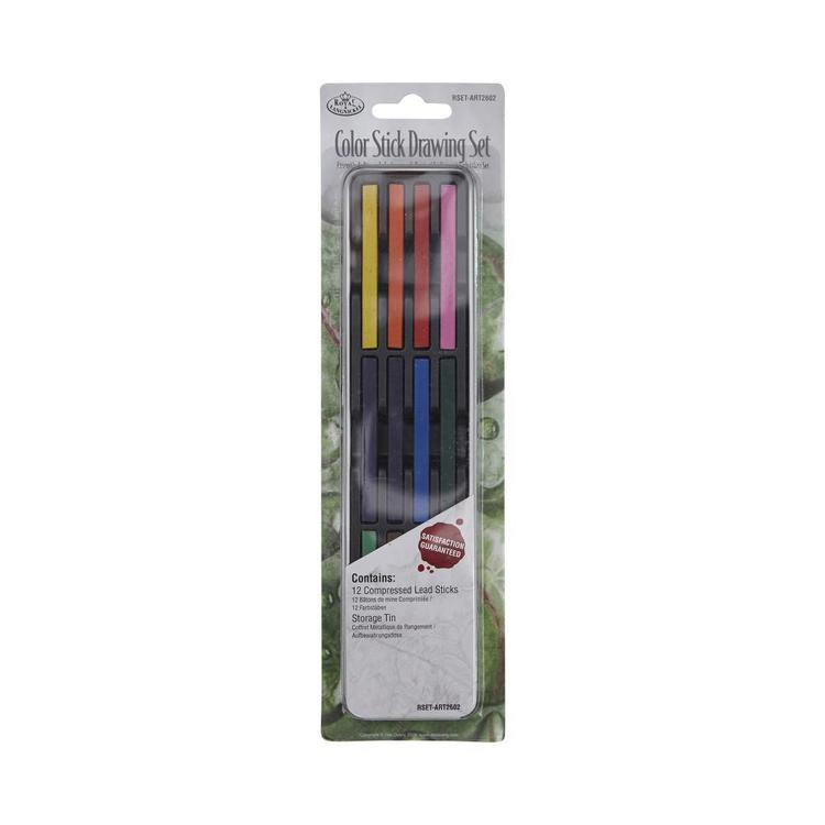 Royal & Langnickel Start In Art Colour Sticks Draw 12 Pieces