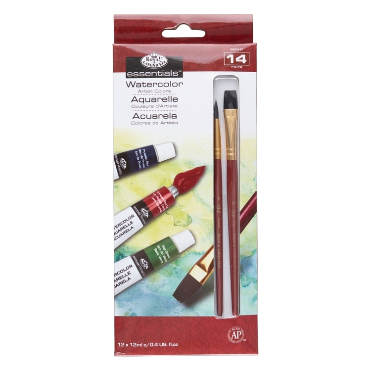 Royal & Langnickel Start In Art Watercolour 12 Piece