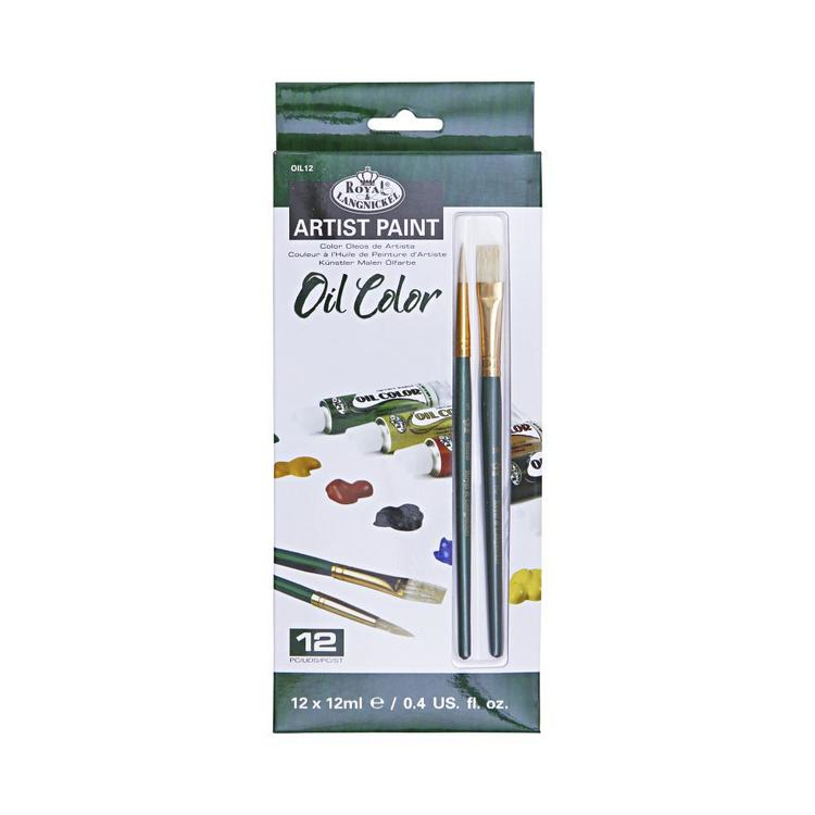 Royal & Langnickel Start In Art Oil 12 Piece