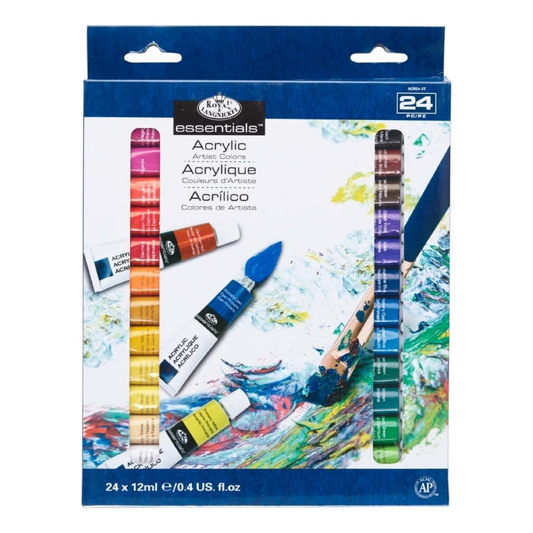 Royal & Langnickel Start In Art Acrylic 24 Piece