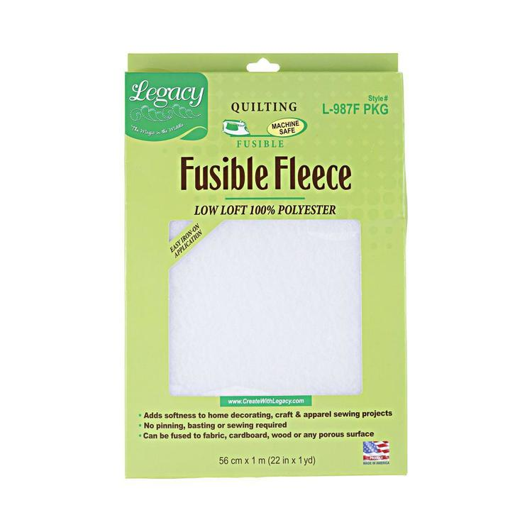 Legacy L-987F Fusible Fleece White 56 x 90 cm