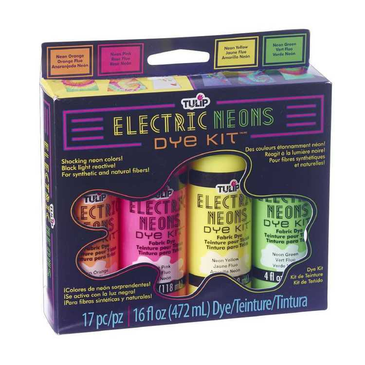 Tulip Electric Neon Dye Kit