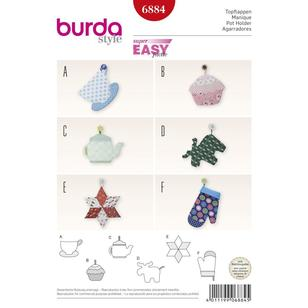 Burda 6884 Pot Holders