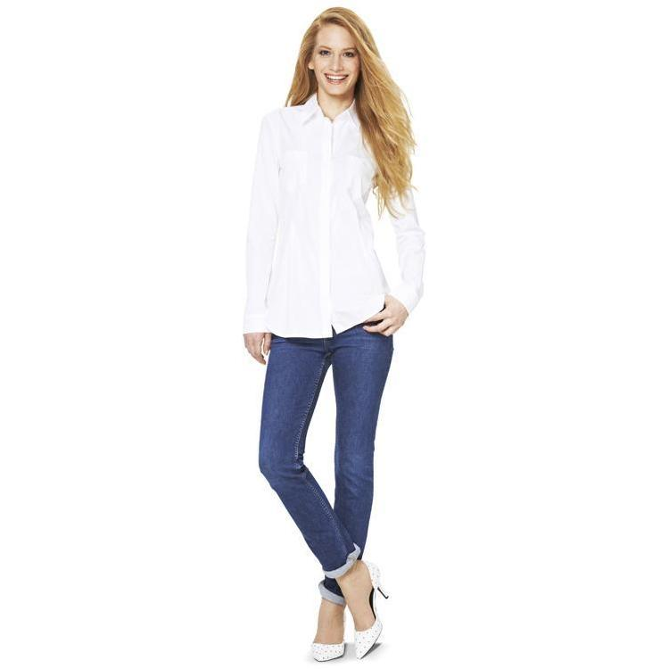 Burda 6849 Women's Blouse  6 - 16
