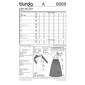 Burda 6868 Women's Evening And Bridal Wear  8 - 18