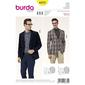 Burda 6872 Men's Suit  34 - 44