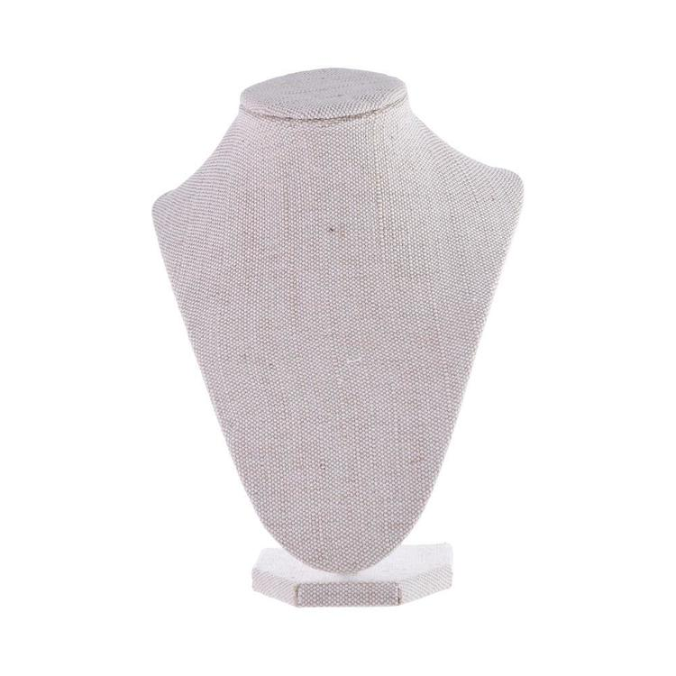 Crafters Choice 3D Fabric Jewellery Stand Linen 23 cm