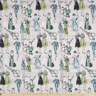 Petit Ladies Printed Woven Fabric