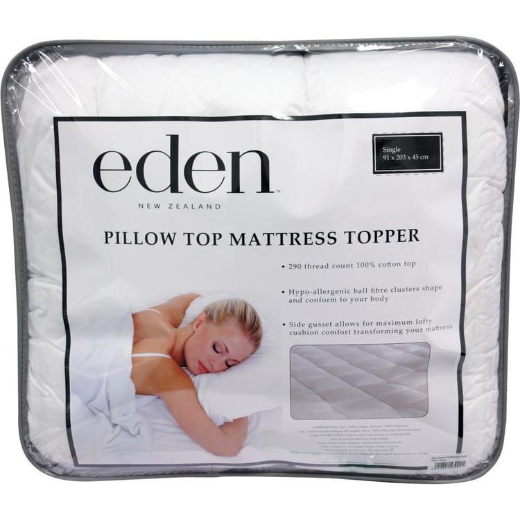 Eden Cluster Puff Mattress Protector
