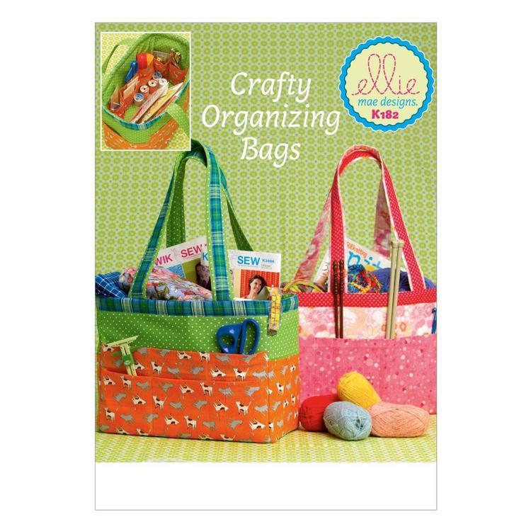 Kwik Sew Pattern K0182 Organizer Bags
