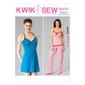 Kwik Sew K4072 Misses' Camisole, Chemise & Pants  All Sizes