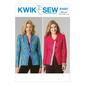 Kwik Sew K4087 Misses' Jackets One Size