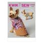 Kwik Sew K4092 Pet Coats  All Sizes