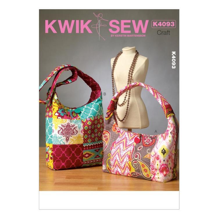 Kwik Sew Pattern K4093 Bags
