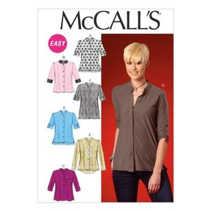 McCall's Pattern M7018 Misses' Tops & Tunic