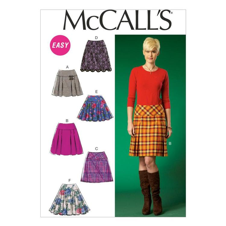 McCalls M7022 Misses' Skirts