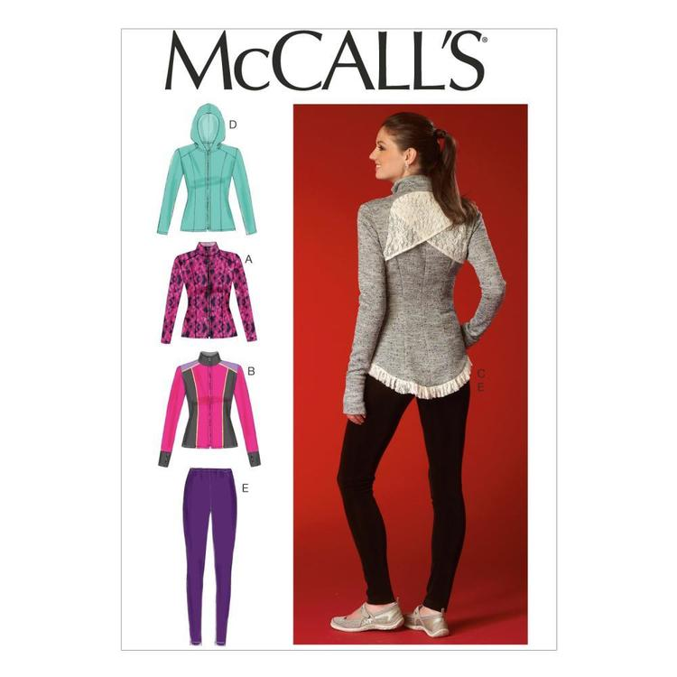 McCalls M7026 Misses' Jackets & Leggings