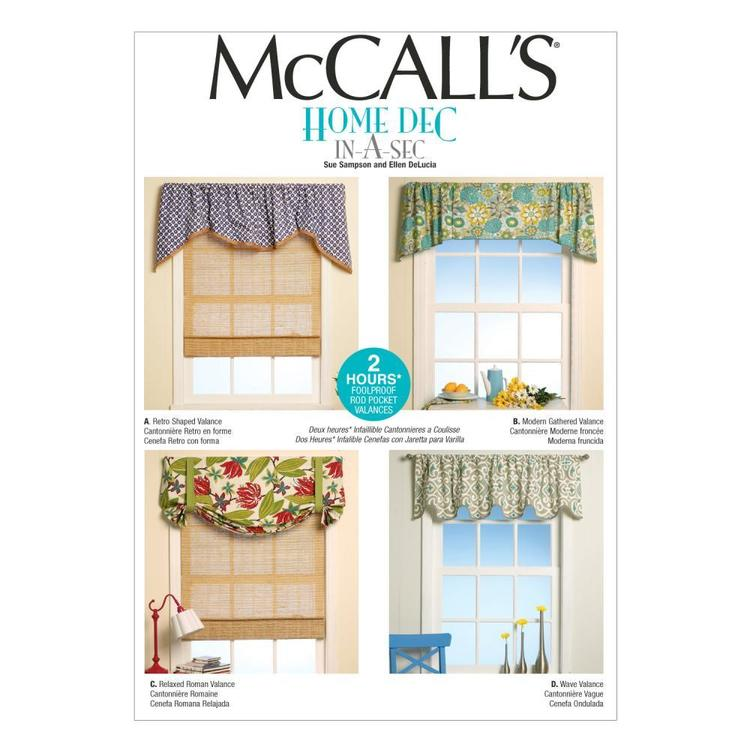 McCall's Pattern M7034 Window Treatments