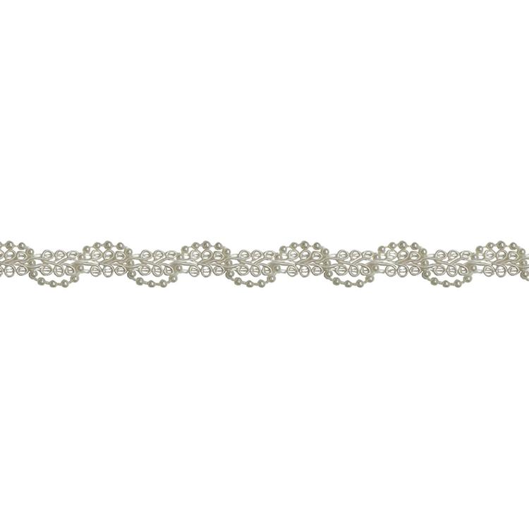 Simplicity Pearl Scroll Braid