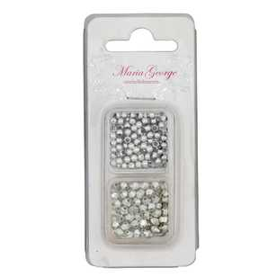Maria George Pearl / Small Diamond Beads