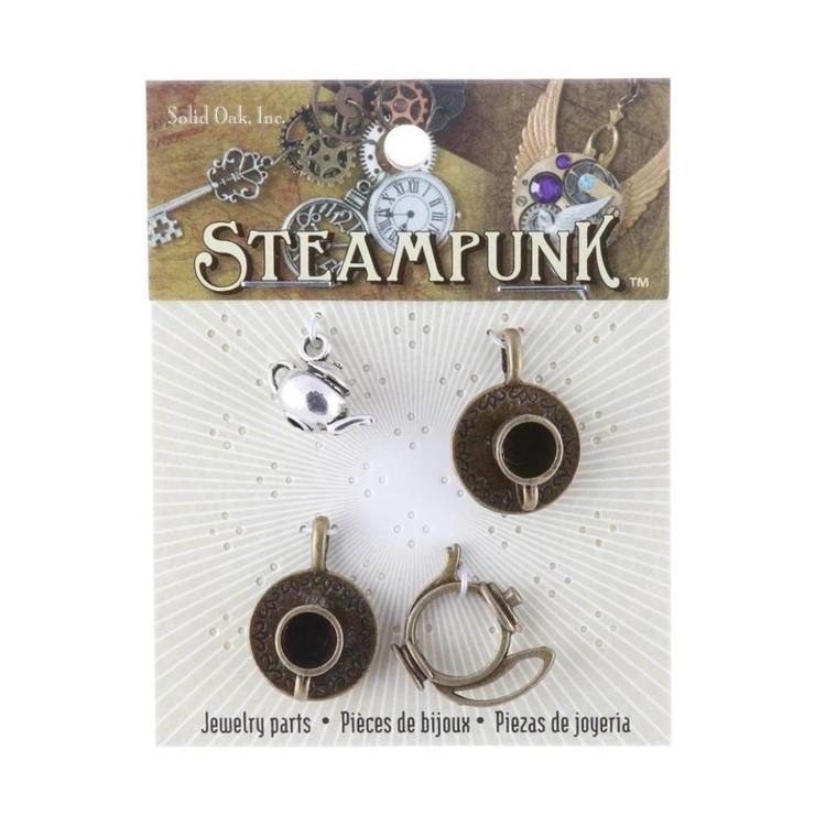 Steampunk Tea Time Charms