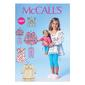 McCalls M7043 Girls' & Doll Tops, Dresses & Leggings