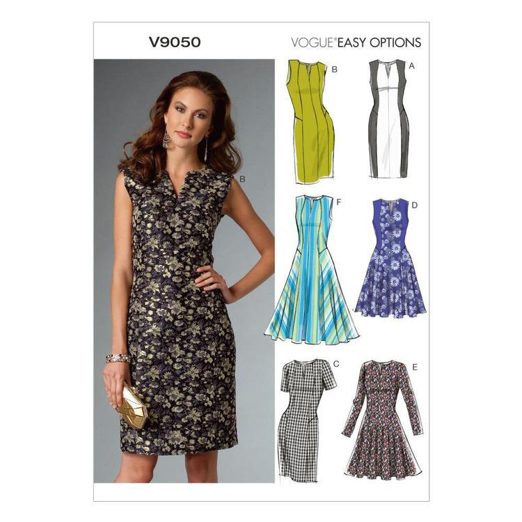 Vogue Pattern V9050 Misses' Petite Dress