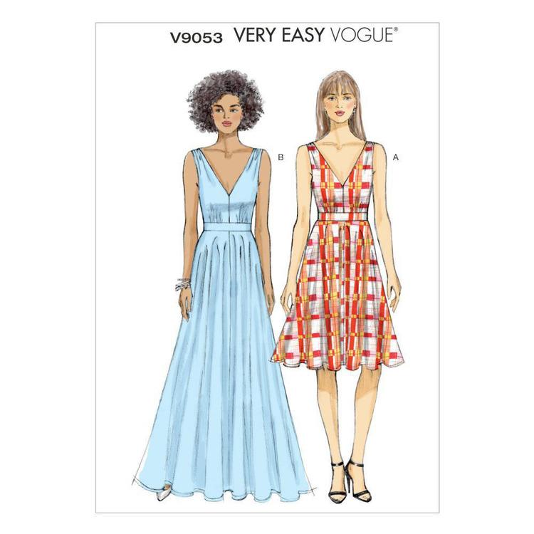 Vogue Pattern V9053 Misses' Dress