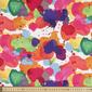 Ink Spot Printed Sateen Multicoloured 127 cm