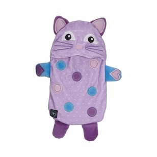 Ladelle Hot Botts Polkadot Kitty Hot Water Bottle & Cover
